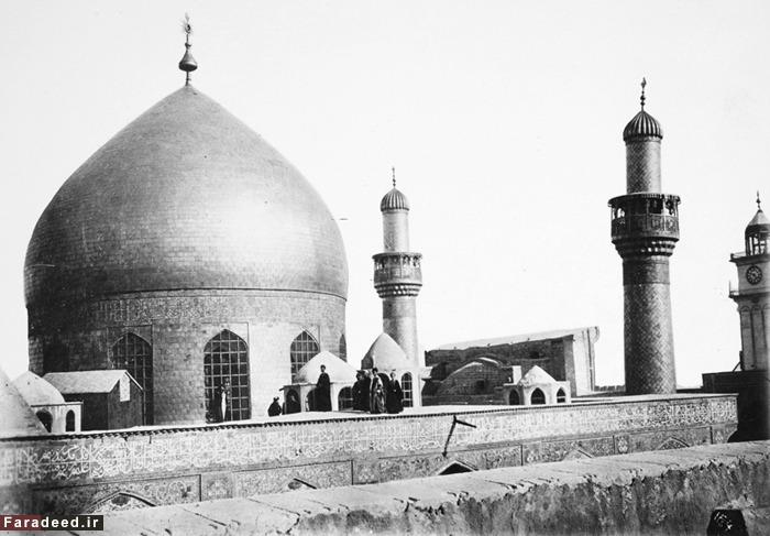 (تصاویر) قدیمیترین عکسها از حرم امام رضا(ع)