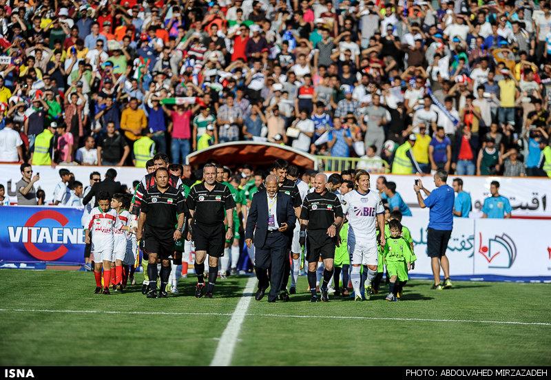 1440775462441 mirzazadeh 1 پیروزی پرگل ستارگان جهان مقابل ستارگان ایران+تصاویر