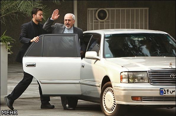 تصویر خودرو محمدجواد ظریـف وزیر
