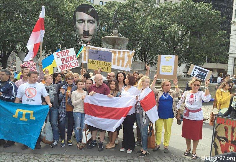 فریاد اوکراینی ها علیه
